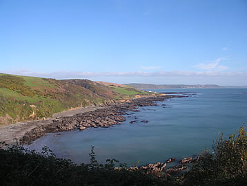 The south west coastal path meanders through spectacular coastline with stunning sea views