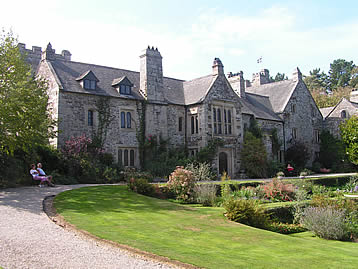 The National Trust house and gardens at Cotehele make a good day out