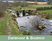 Dartmoor National Park and Bodmin Moor